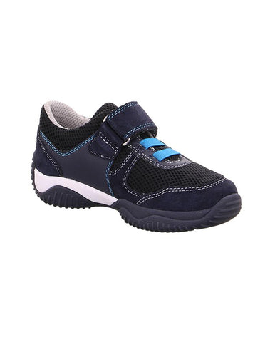 SUPERFIT BOY'S NAVY-BLUE TRAINER WITH SINGLE VELCRO 4-09383-80