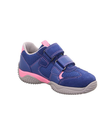 SUPERFIT GIRL'S BLUE-PINK TRAINER 4-09380-83