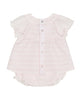 TARTINE ET CHOCOLATE PINK STRIPED SHORT SET