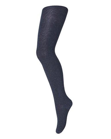 MP DENMARK TIGHTS COTTON WITH GLITTER NAVY