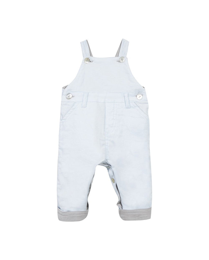 DUNGAREES-BABY MIXED LIGHT GREY