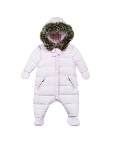 ONESIE-BABY GIRL LIGHT PINK