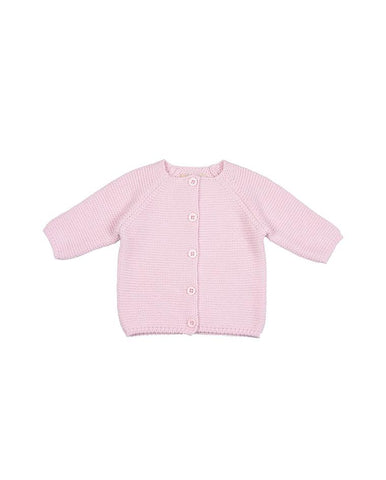 TOFFEE MOON BUBBLE CARDIGAN - CRADLE PINK