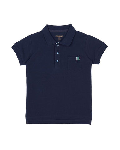 VELVETEEN RUPERT: POLO SHIRT WITH TAPE DETAIL