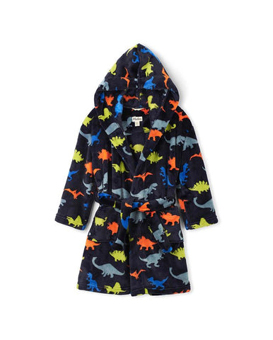 HATLEY DINO HERD FLEECE ROBE