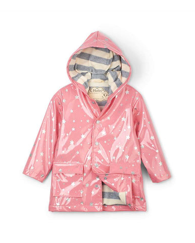HATLEY METALLIC HEARTS RAINCOAT