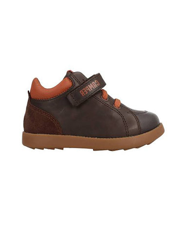 CAMPER TODDLER BOOTS, BROWN
