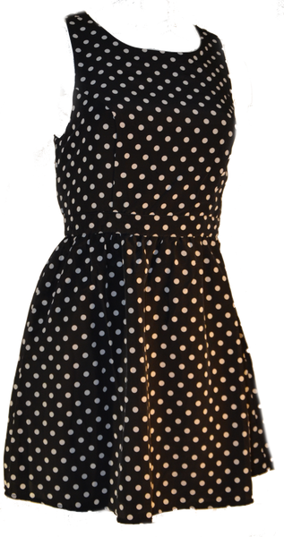 Polka Dot Apron Dress