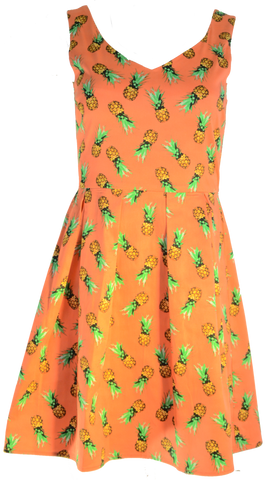 Sweet Pineapple Dress