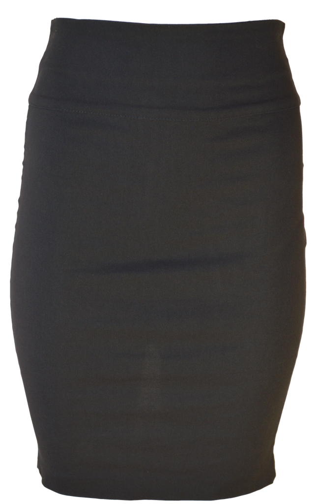 Pencil Skirt with Bow Cute Detail