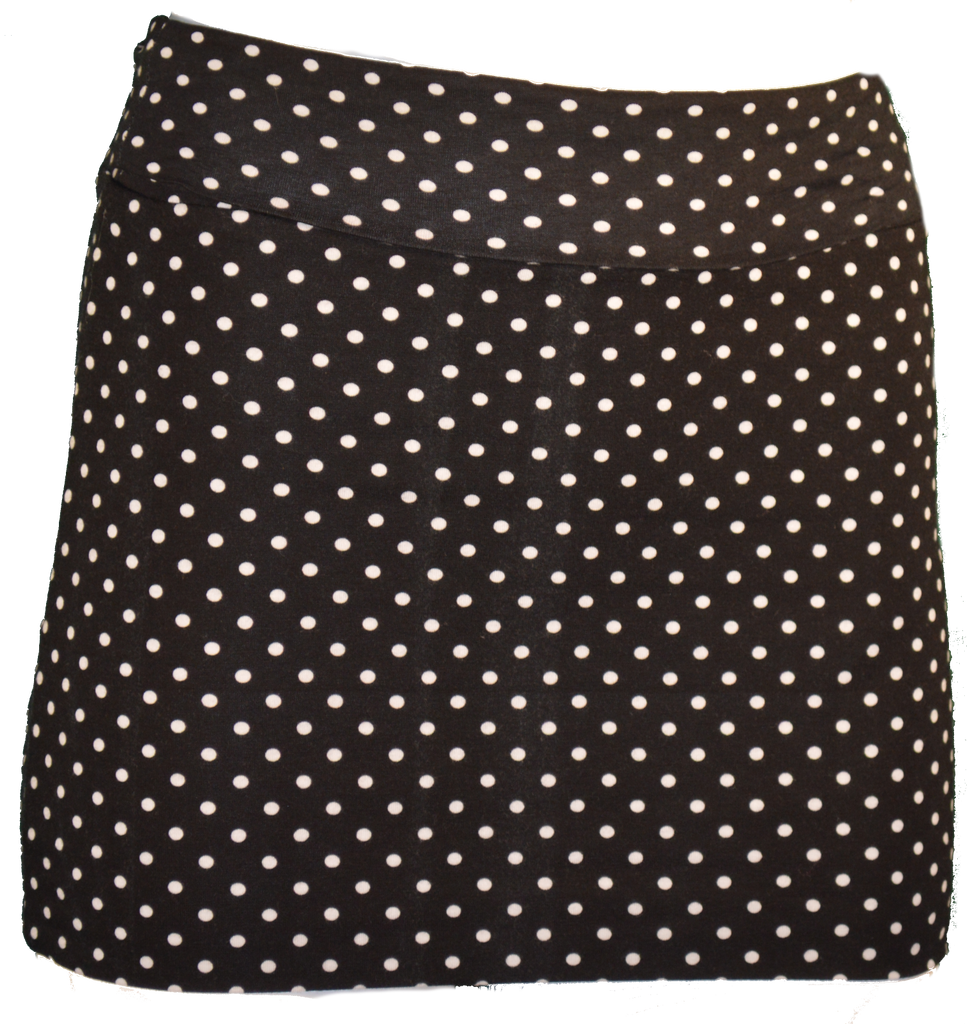 Black Polka Dot Mini