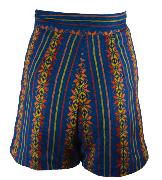 Mexi High-waisted Shorts
