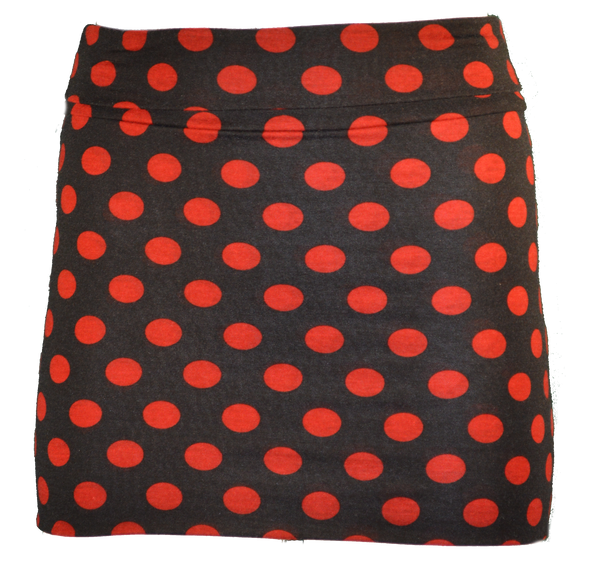 Red Polka Dot Mini