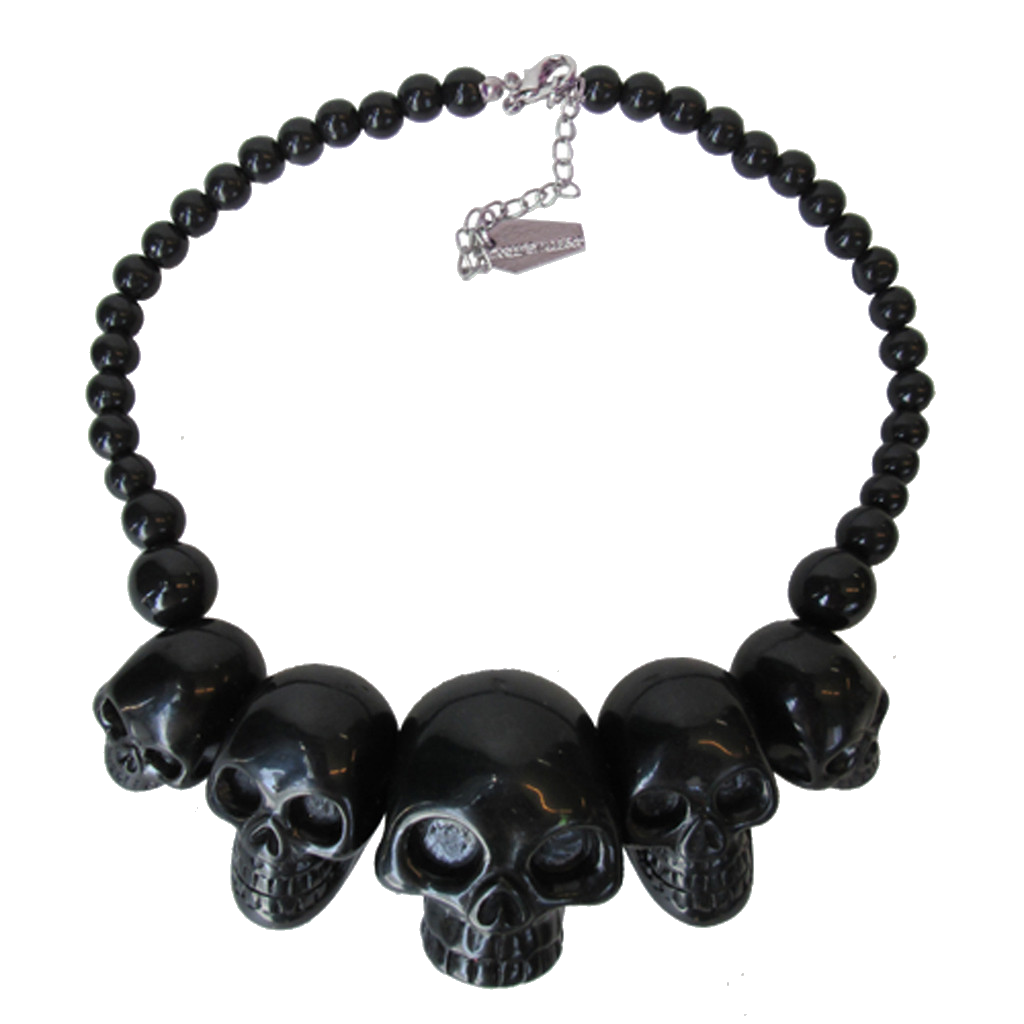 Skull Collection in Black