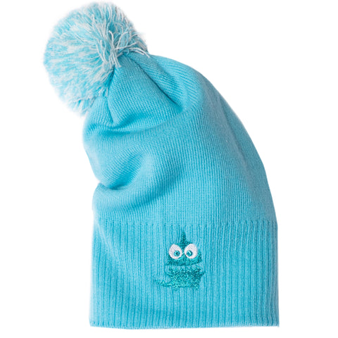 Susanna Clothing Logo boys, girls winter beanie Winter Hat 0-10 years - Blue