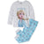 Disney Frozen II Long Sleeve 98% Cotton Pyjamas Set for Girls 2-8 Years - Grey