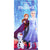 Disney Frozen II Girls Soft Microfibre Beach Bath Towel 70 X 140 cm  - Elsa & Anna