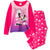 Disney Minnie Mouse Long Sleeve Pyjamas Set for Girls 2-8 Years - Pink
