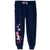 Disney Minnie Mouse Character Joggers Trousers 100% Cotton - 2-8 years - Navy
