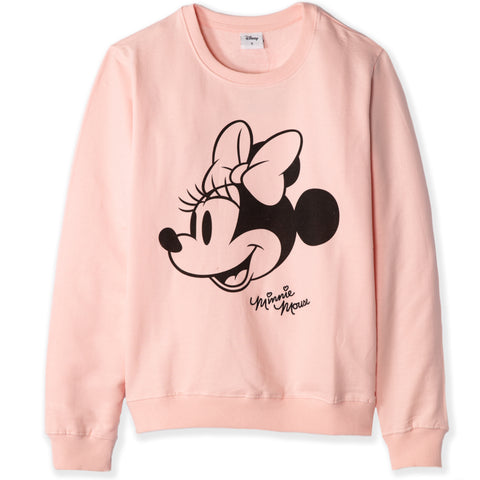 Disney Minnie Mouse Women's / Teenager's Sweatshirt  - Pink