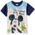 Disney Mickey Mouse Boy's Short Sleeve Cotton T-Shirt 2-8 yrs - Navy
