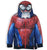 Spiderman Boys Hoodie, Hooded Zipped Jumper Super Hero Costume 2-8 Years