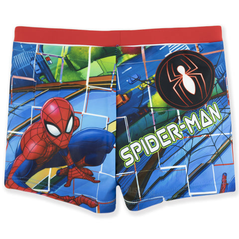 Spiderman Marvel Boys Swimming Boxers, Briefs 2-8 years - Multicoloured