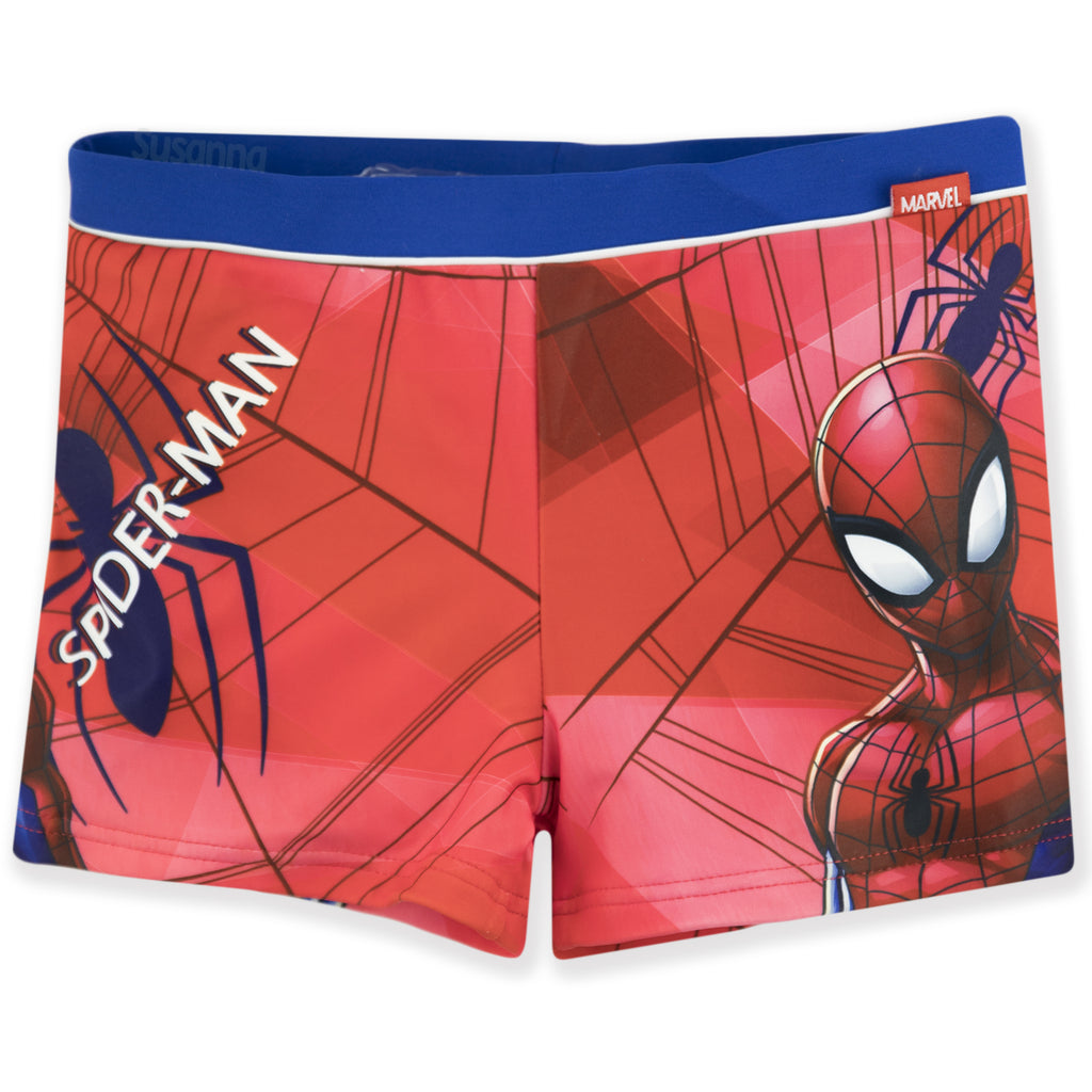 Spiderman Marvel Boys Swimming Boxers, Briefs 2-8 years - Red