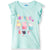 Peppa Pig 100% Cotton Top, T-Shirt for Girls 2-6 Years - Pastel Blue