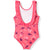 Disney Frozen 2 Swimming Costume for Girls 3-8 years - Dark Pink