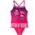 L.O.L. Surprise! lol Girls Swimsuit, Swimming Costume with Skirt 4-10 Years - Pink