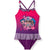 L.O.L. Surprise! lol Girls Swimsuit, Swimming Costume with Skirt 4-10 Years - Purple