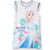 Disney Frozen Short Sleeve 100% Cotton Nightdress for Girls 3-8 Years - Blue