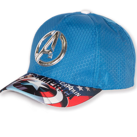 The Avengers Marvel Boys Sun Hat / Baseball Cap 2-8 Years - Blue