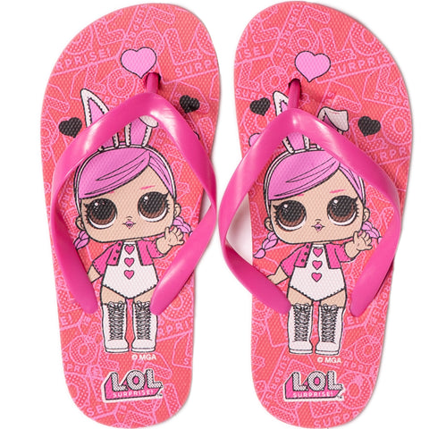 L.O.L. Surprise! Girl's Flip Flops / Thongs Shoes Waterproof - Pink