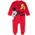 Disney Mickey Mouse & Friends Baby Boys Gilrls Velvet All Occasion Onesie  - Red