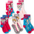 Disney Frozen Socks 5-PACK Set Crew Standard Size Children's Socks