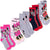 Disney Minnie Mouse Socks 5-PACK Set Crew Standard Size Children's Socks