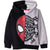 Spiderman Marvel Boy's Fleece Hoodie, Sweatshirt 2-8 Years - Black