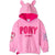 My Little Pony Girls Fleece Hoodie. Ears and Sequins 2-8 Years - Pink