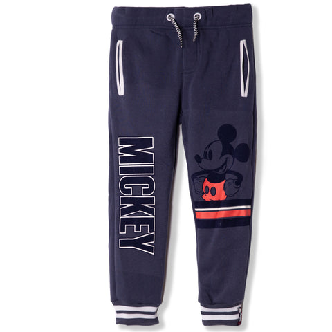 Disney Mickey Mouse Boys joggers, sweatpants 2-8 Years - Navy