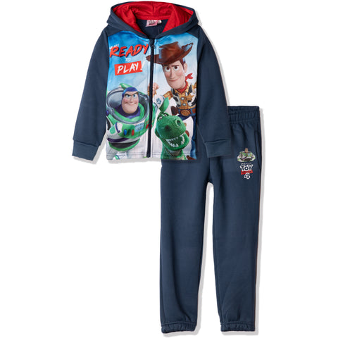 Disney Pixar Toy Story 4 Tracksuit Set of Hoodie and Sweatpants 2-8 Years - Navy