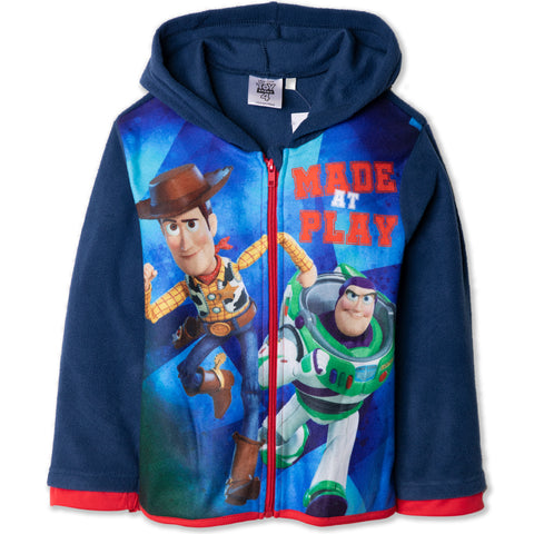 Disney Pixar Toy Story 4 Warm Polar Fleece Jacket, Hoodie 2-8 Years - Navy