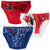 Spiderman Marvel Boys Underwear Set, 3-Pack Briefs Knickers 2-8 Years