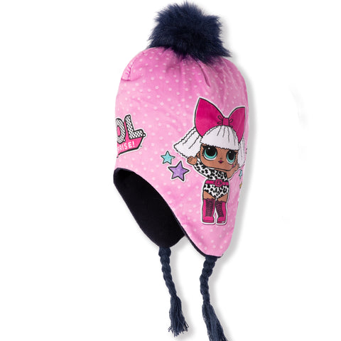 L.O.L. Surprise! Lol Winter Peruvian / Trapper Hat - 2-8 years - Navy