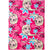 Disney Frozen II, Elsa Character Patterned Blanket Soft Cosy Coral Fleece 120 x 90 cm