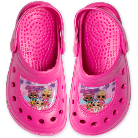 L.O.L. Lol Surprise!  Girl's Clogs / Sandals Shoes Waterproof - Fuchsia