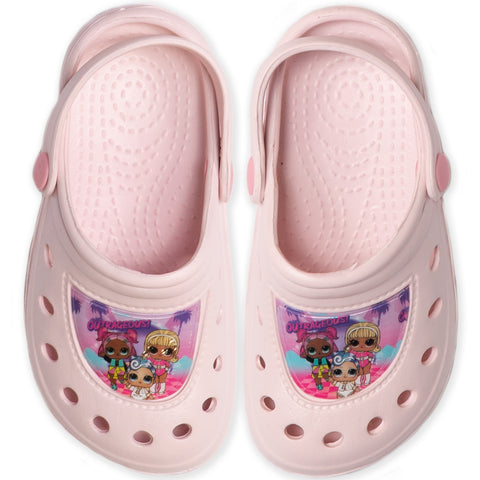 L.O.L. Lol Surprise!  Girl's Clogs / Sandals Shoes Waterproof - Light Pink