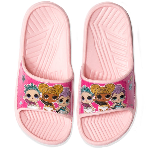 L.O.L. Surprise! Girl's Flip Flops / Sliders Shoes Waterproof - Light Pink