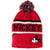 Disney Mickey Mouse Beanie Winter Hat with Pom Pom 2-8 Years - Red